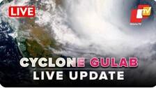 Cyclone Gulab Live Updates: 7 Odisha Districts On Alert, Landfall Tomorrow Near Kalingapatnam In Andhra Pradesh