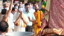 CJI Ramana Offers Prayers At Puri Jagannath Temple