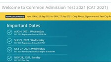 CAT 2021: IIM Ahmedabad Opens Correction Window, Admit Cards To Be Released On Oct 27