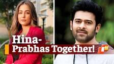 Baahubali Prabhas To Share Screen With Hina Khan? Actress Reacts
