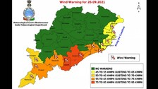 Cyclone Gulab Latest Update: These Districts In Odisha To Experience Strong Winds