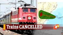 Cyclone Gulab: 28 Trains Cancelled & Many Diverted By ECoR, Indian Railways