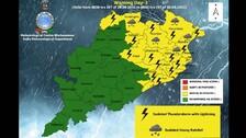 IMD Issues Yellow Warning For Heavy Rain, Thunderstorm Till Oct 1 In Odisha