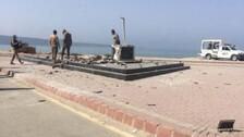 Baloch Liberation Army Blows Up Mohammad Ali Jinnah Statue In Gwadar