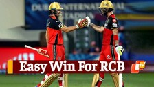 IPL 2021: RCB Beat Rajasthan Royals By 7 Wickets