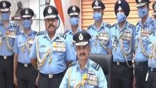 Air Chief Marshal Chaudhari Takes Charge As New IAF Chief