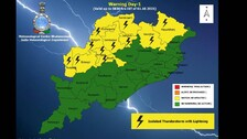 No Heavy Rain Alert For Odisha, Thunderstorm To Continue; Check IMD's Latest Weather Forecast