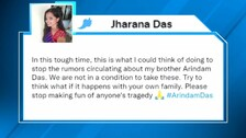OTV Journalist Arindam Das' Sister Requests To Stop Spreading Rumours About Family