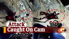 Caught On Cam   Youth Injured In Violent Attack By Miscreants In Bhubaneswar