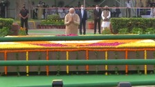 PM Modi Pays Tributes To Gandhi, Shastri On Their Birth Anniversaries