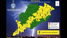 IMD Issues Thunderstorm Alert For Several Parts Of Odisha, Check Full Forecast