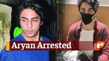 SRK's Son Aryan Khan Arrested By NCB In Mumbai Cruise Drugs Scandal