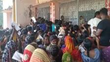 Covid Vaccination Centre In Cuttack Witnesses Chaotic Scenes