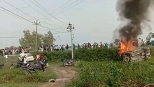 Farmer Killed In Lakhimpur Violence Cremated After Second Autopsy