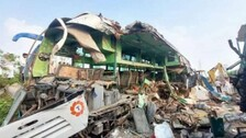 Uttar Pradesh Truck-Bus Collision: Death Toll Rises To 13