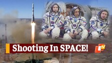 Film Crew Does The Unthinkable, Blasts Off To Space To Shoot Movie
