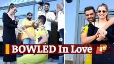 IPL 2021: WATCH Deepak Chahar & Jaya Bharadwaj Post Match Ring-Exchange Moment