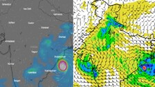 October 18: Weather Models Predict Extremely Severe Cyclone To Depression Hitting Odisha