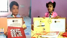 Two Child Prodigies From Odisha Enter India Book of Records For Their Amazing Skills