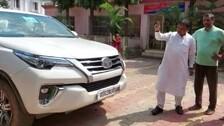 Bombs Hurled At Odisha BJP MLA Mohan Majhi's Car In Keonjhar