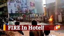 Fire Breaks Out At Hotel After 'LPG Explosion'