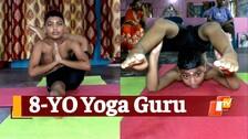 Eight-Year-Old Becomes International Yoga Guru