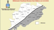 Southwest Monsoon Withdraws From Several Districts Of Odisha