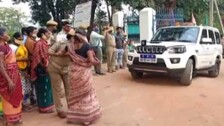Women Jump In Front Of Odisha DGP's Vehicle Seeking Justice For 'Murdered' Woman