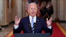Withdrawal From Afghanistan Best Decision For America: Biden