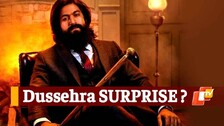 KGF 2 Fans To Get Dussehra Surprise? Rocky Bhai Followers Await Big Moment