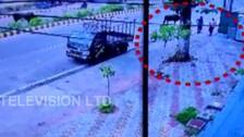 Caught On Camera: Miscreant Slits Woman's Throat During Loot Bid In Bhubaneswar