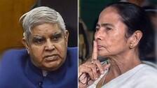 West Bengal CM, Guv Spat: Mamata Banerjee Calls Jagdeep Dhankhar 'Corrupt', Governor Hits Back