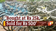 BMC's Ambitious 'Mo Cycle' Plan Fails? Bicycles End Up In Scrap Yard In Bhubaneswar