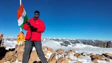 Chinmaya Moharana Of Odisha Conquers Mt. Yunam In The Himalayas