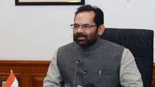 Haj 2022 Process In India To Be 100 Pc Digital: Union Minister Naqvi