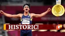 Tokyo Olympics: Neeraj Chopra Scripts History With Gold