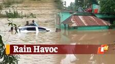 Incessant Rain Raises Flood Concern In Odisha
