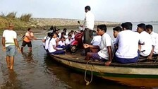40 Students Sail Across River To Appear For Odisha Matric Exam