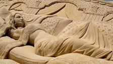 From Naxal-Hit Malkangiri To Puri Beach, Budding Sand Artist Sculpts Success Story