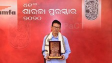 Noted Odia Poet Nityanand Nayak Conferred With Sarala Puraskar