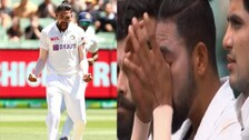Aus Vs Ind: Mohammed Siraj Gets Emotional While Singing National Anthem At SCG