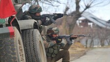 Foreign Terrorist Trapped As Sopore Encounter Rages On