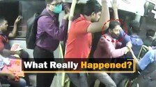 Row Over Passenger Falling Off Mo Bus: CCTV Footage Provides Inside View From Bus