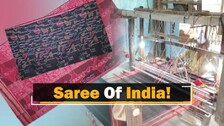Odisha's Bandha Saree Weavers Showcase Craftsmanship In Unique Design