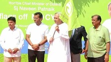 CM Naveen launches public bicycle sharing project & 'Mo Cycle' app