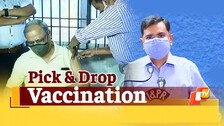 Doorstep COVID19 Testing, pick-&-drop vaccination for senior citizens in Bhubaneswar
