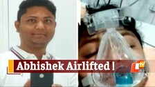 Critical Covid19 Patient Abhishek Mohapatra Airlifted To Kolkata For ECMO