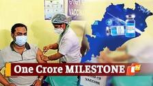 Odisha Crosses The Milestone Of 1 Crore Covid19 Vaccination