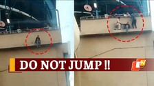 Watch: Girl Attempting Suicide At Metro Station In Faridabad Saved By CISF Personnel