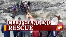 Watch: Daredevil Rescue Amid Raging Floodwater In Himachal Pradesh